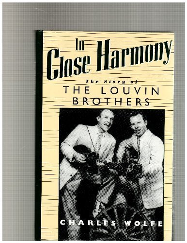 9780878058914: In Close Harmony: The Story of the Louvin Brothers (American Made Music)