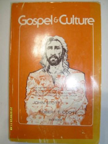 9780878081660: Gospel & culture: The papers of a consultation on the Gospel and culture (The William Carey Library series on applied cultural anthropology)