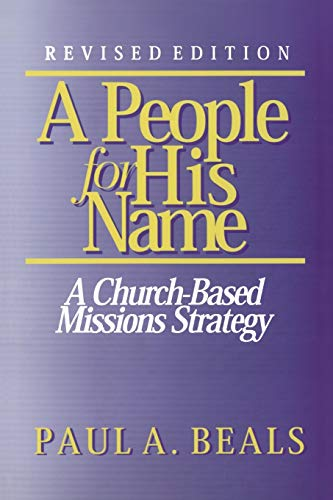 9780878087648: People For His Name*: A Church-Based Mission Strategy