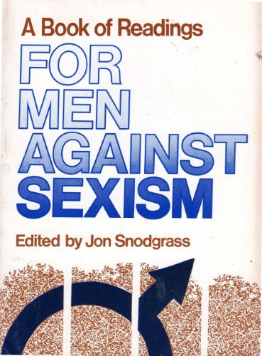 9780878100316: A Book of Readings for Men Against Sexism