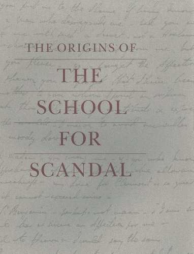 Origins of the School for Scandal