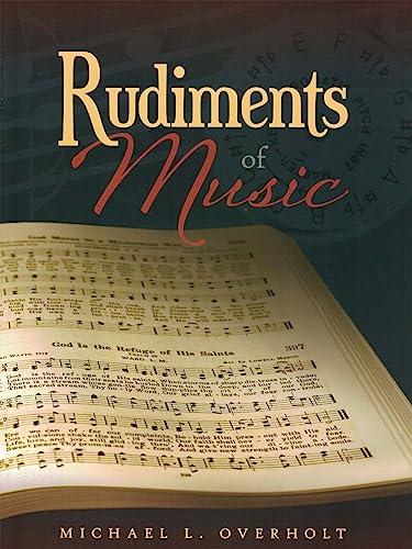 9780878137039: Rudiments of Music