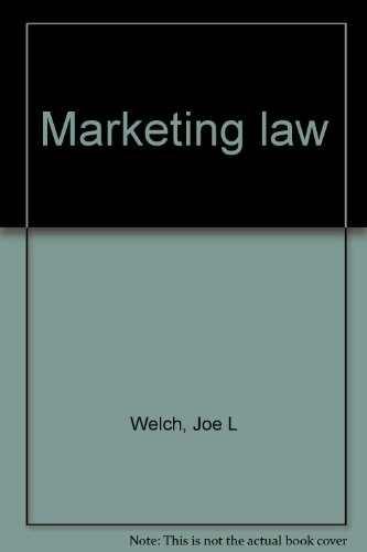 9780878141074: Marketing law