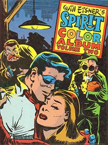 Image result for will eisner the spirit color album