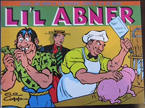 Li'l Abner: Dailies, Vol. 4: 1938 (0878160523) by Al Capp