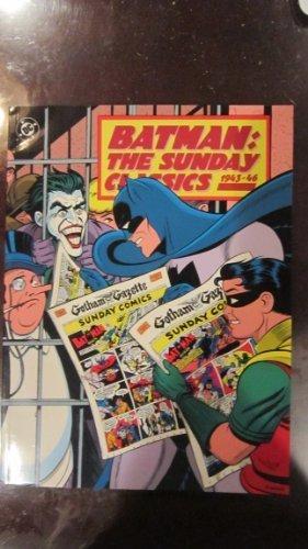 9780878161485: Batman: The Sunday Classics, 1943-46