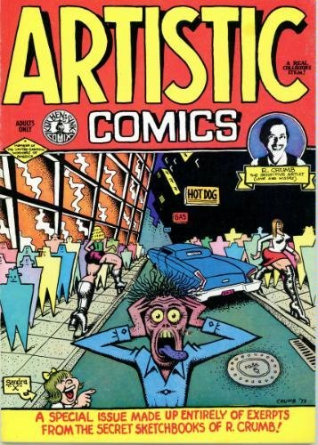 Artistic comics: A special issue made up: Crumb, R