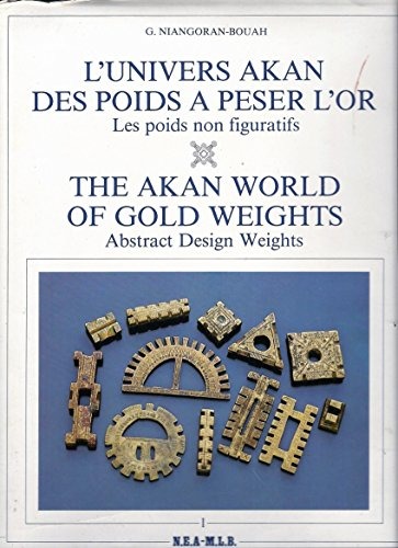 9780878173228: Akan World of Gold Weights: Abstract Design Weights v. 1