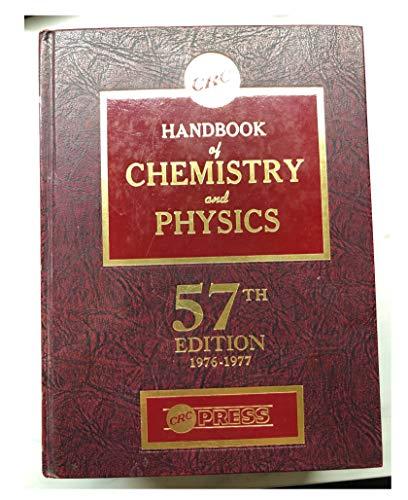9780878194568: Handbook of Chemistry and Physics