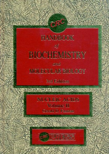 9780878195077: Handbook of Biochemistry: Section B Nucleic Acids, Volume II