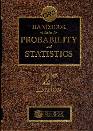 9780878196920: Handbook of Tables for Probability and Statistics