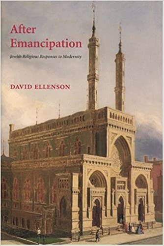 9780878202232: After Emancipation: Jewish Religious Responses To Modernity