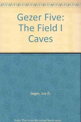 Gezer Five: The Field I Caves (0878203052) by Seger, Joe D.