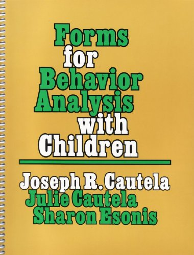 9780878222674: Forms for Behavior Analysis With Children