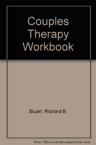 9780878222926: Couples Therapy Workbook