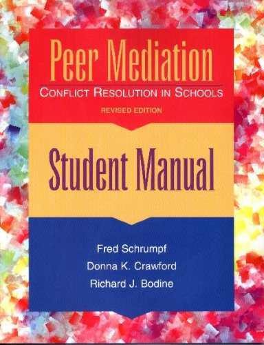 9780878223671: Peer Mediation: Conflict Resolution in Schools : Student Manual
