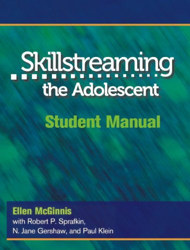 9780878223701: Skillstreaming the Adolescent: Student Manual