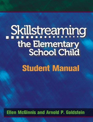 9780878223732: Skillstreaming the Elementary School Child: Student Manual
