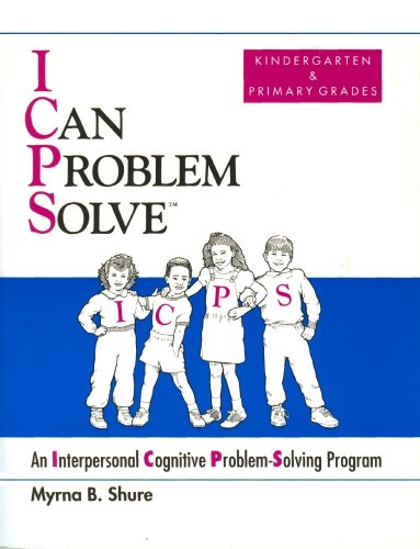 9780878224296: I Can Problem Solve: An Interpersonal Cognitive Problem-Solving Program : Kindergarten & Primary Grades