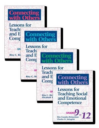 9780878224319: Connecting with Others, Four Volume Set: Lessons for Teaching Social and Emotional Competence