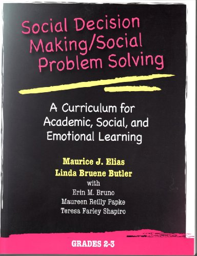 9780878225125: Social Decision Making/Social Problem Solving: A Curriculum For Academic, Social And Emotional Learning: Grades 2-3 (Book and CD)