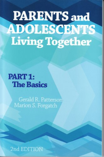 9780878225163: Parents And Adolescents Living Together: Part 1, The Basics