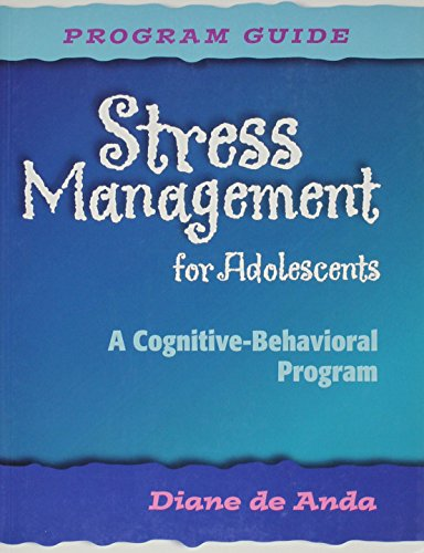 9780878225637: Stress Management for Adolescents: A Cognitive-Behavioral Program (Guide, CD and 5 Student Manuals)
