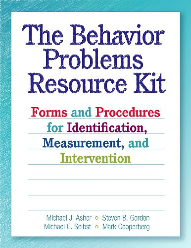 9780878226337: The Behavior Problems Resource Kit: Forms and Procedures for Identification, Measurement, and Intervention