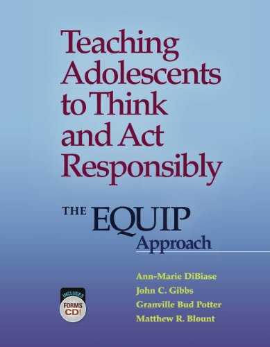 9780878226719: Teaching Adolescents to Think and Act Responsibly: The EQUIP Approach
