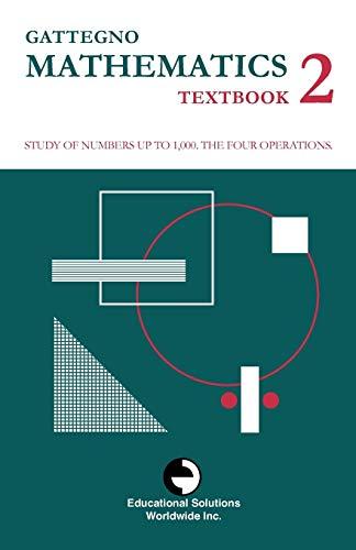 9780878250127: Gattegno Mathematics Textbook 2