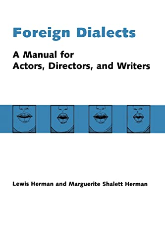 9780878300204: Foreign Dialects: A Manual for Actors, Directors, and Writers