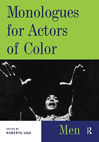9780878300716: Monologues for Actors of Color Men (Theatre Arts (Routledge Paperback))