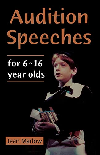 9780878301140: Audition Speeches for 6 ~ 16 Year Olds