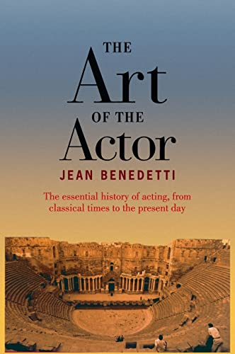 9780878302031: The Art of the Actor
