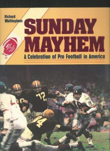 9780878335480: Sunday Mayhem: A Celebration of Pro Football in America
