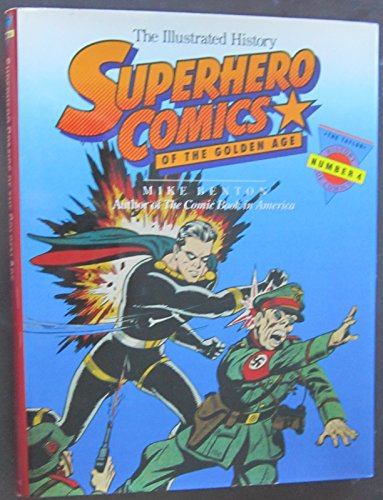 9780878338085: Superhero Comics of the Golden Age: The Illustrated History (Taylor History of Comics)