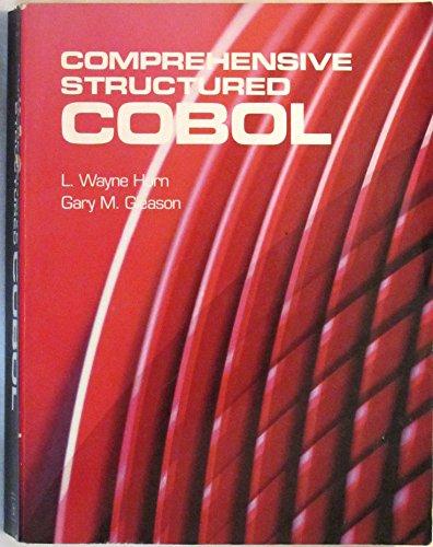 9780878351541: Comprehensive Structured Cobol