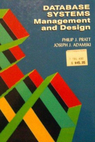 9780878352272: Data Base Management and Design