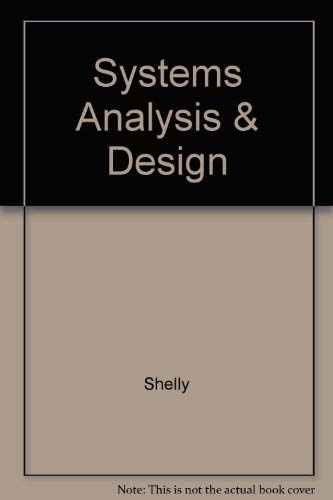 9780878352579: Systems Analysis and Design