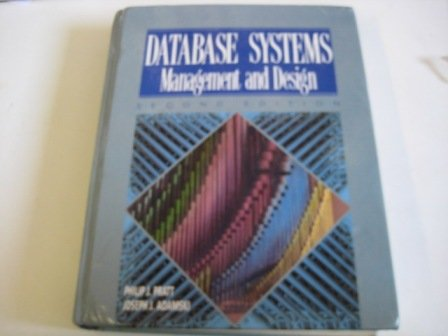 9780878355792: Database Systems: Management and Design
