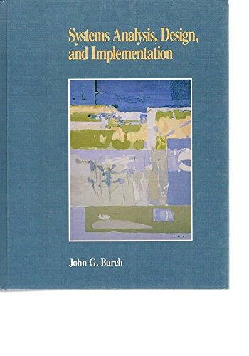 9780878358182: Systems Analysis, Design and Implementation