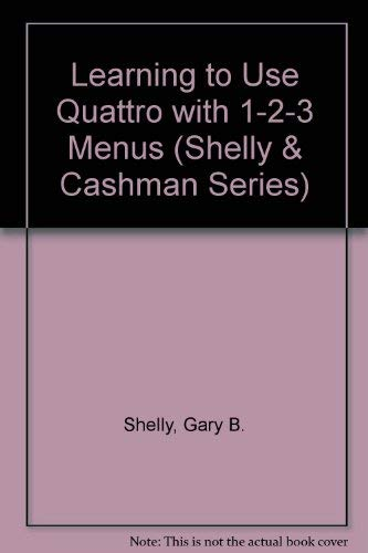 9780878359349: Learning to Use Microcomputer Applications (Shelly & Cashman Series)