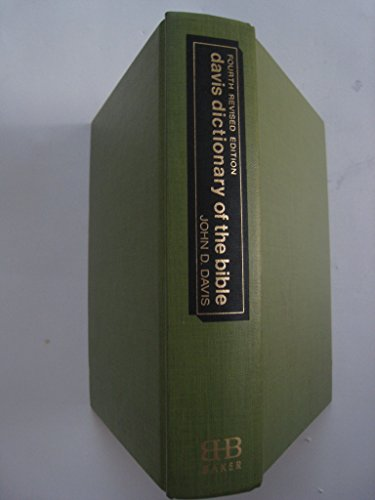 9780878360017: Davis Dictionary of the Bible Illustrated