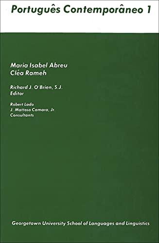 Portugues Contemporaneo 1: Abreu, Maria Isabel; Rameh, Clea