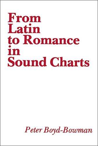 9780878400775: From Latin to Romance in Sound Charts