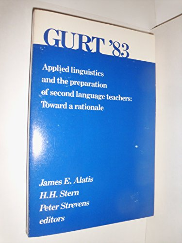 9780878401185: Applied linguistics and the preparation of second language teachers: Toward a rationale