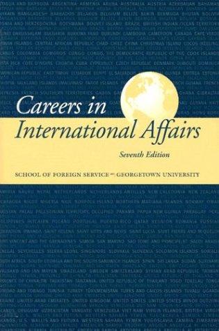 Careers in International Affairs: Maria Pinto Carland,