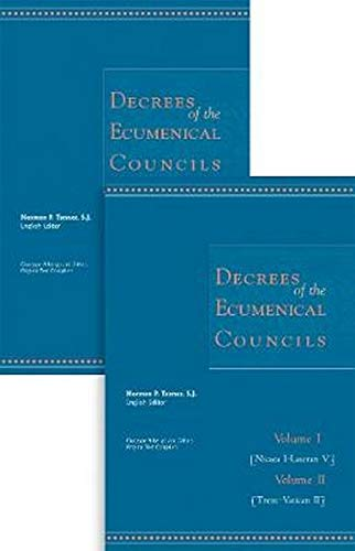 9780878404902: Decrees of the Ecumenical Councils 2 Volume Set
