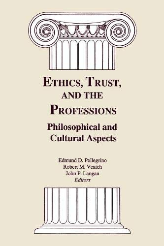 9780878405121: Ethics, Trust, & Profes CB (Bicentennial Celebration Series of Georgetown Univ, 1789-1989)