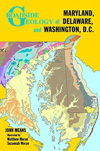 9780878425709: Roadside Geology of Maryland, Delaware, and Washington, D.C. (Roadside Geology Series)